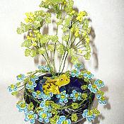 Подарки к праздникам ручной работы. Ярмарка Мастеров - ручная работа Пруд с лягушкой. Handmade.