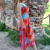 """Одежда ручной работы. Ярмарка Мастеров - ручная работа Сарафан """"Лето красное"""". Handmade."""