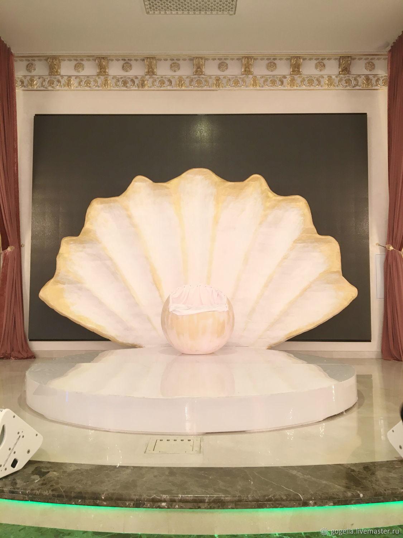 Свадебные цветы ручной работы. Ярмарка Мастеров - ручная работа. Купить Продаю Ракушку для регистрации. Handmade. Свадьба, фотозона на свадьбу