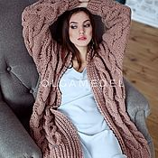 Одежда handmade. Livemaster - original item cardigans: Knitted cardigan spokes, a gift to a girl on Valentine`s Day. Handmade.