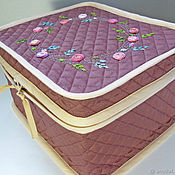 Beauticians handmade. Livemaster - original item Road case for cosmetics. Handmade.