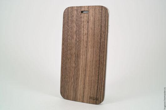 Для телефонов ручной работы. Ярмарка Мастеров - ручная работа. Купить Чехол для iPhone 6 Plus Орех. Handmade. термополиуретан
