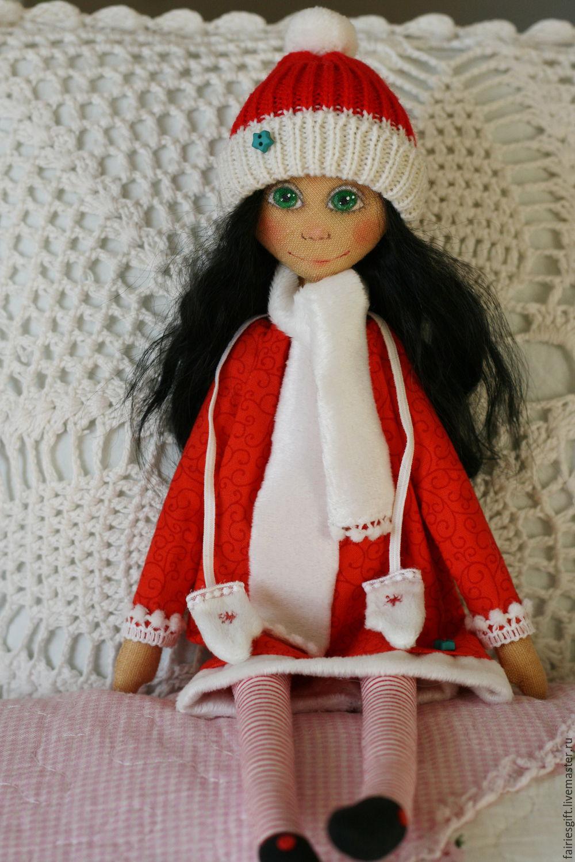 Текстильная кукла Пили, Куклы и пупсы, Москва,  Фото №1