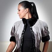 Одежда handmade. Livemaster - original item Fur vest mink. Mink vest. Vest of mink.. Handmade.