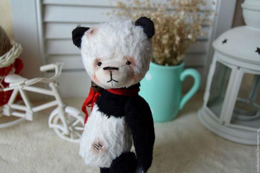 Мишки Тедди ручной работы. Ярмарка Мастеров - ручная работа. Купить Панда По. Handmade. Чёрно-белый, мишка тедди