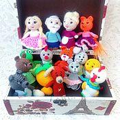 Куклы и игрушки handmade. Livemaster - original item Set of Russian folk tales. Penlight theater. Handmade.