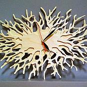 Для дома и интерьера ручной работы. Ярмарка Мастеров - ручная работа Часы Ветки коралла. Handmade.