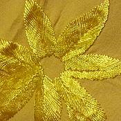 Винтаж handmade. Livemaster - original item shawl wool shawl hand embroidery and fringe DAGESTAN antique large. Handmade.