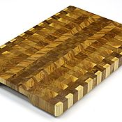 Для дома и интерьера handmade. Livemaster - original item End cutting Board №134. Handmade.