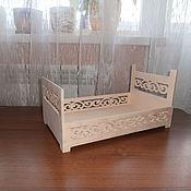 Материалы для творчества handmade. Livemaster - original item Doll crib No. 447. Handmade.
