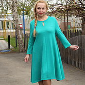 "Одежда handmade. Livemaster - original item Knitted dress ""Cosy for You""- new colors. Handmade."