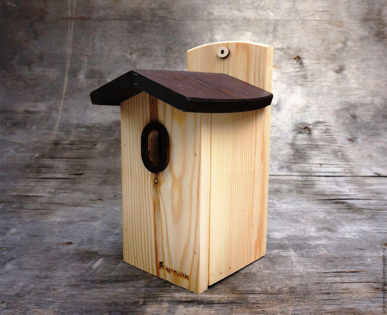 Birdhouse for birds with oval hole