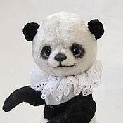 Куклы и игрушки ручной работы. Ярмарка Мастеров - ручная работа Пандик мишка тедди. Handmade.