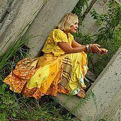 """Одежда ручной работы. Ярмарка Мастеров - ручная работа Юбка """"Радостная"""". Handmade."""