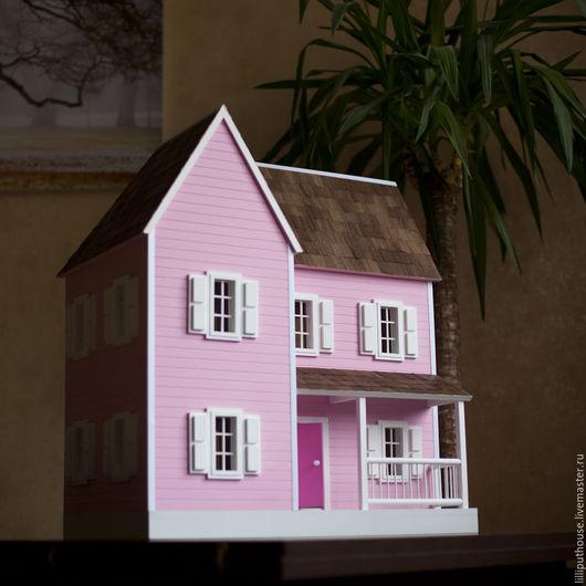 Кукольный дом ручной работы. Ярмарка Мастеров - ручная работа. Купить Кукольный домик. Handmade. Кукольный домик, домик для кукол