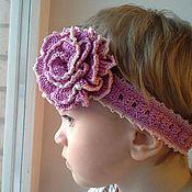 Работы для детей, ручной работы. Ярмарка Мастеров - ручная работа Повязка на голову. Handmade.