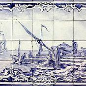 Для дома и интерьера handmade. Livemaster - original item The painting on the tiles, murals Azulejos