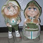 Куклы и игрушки ручной работы. Ярмарка Мастеров - ручная работа Домовые и гномики. Handmade.