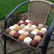 Для дома и интерьера ручной работы. Ярмарка Мастеров - ручная работа Декоративная подушка на стул. Handmade.