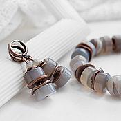handmade. Livemaster - original item Bracelet and earrings