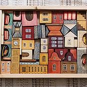 """Игровые наборы ручной работы. Ярмарка Мастеров - ручная работа Деревянный набор-конструктор """"Лондон"""". Handmade."""