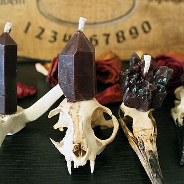 Для дома и интерьера ручной работы. Ярмарка Мастеров - ручная работа Свечи кристаллы восковые. Handmade.