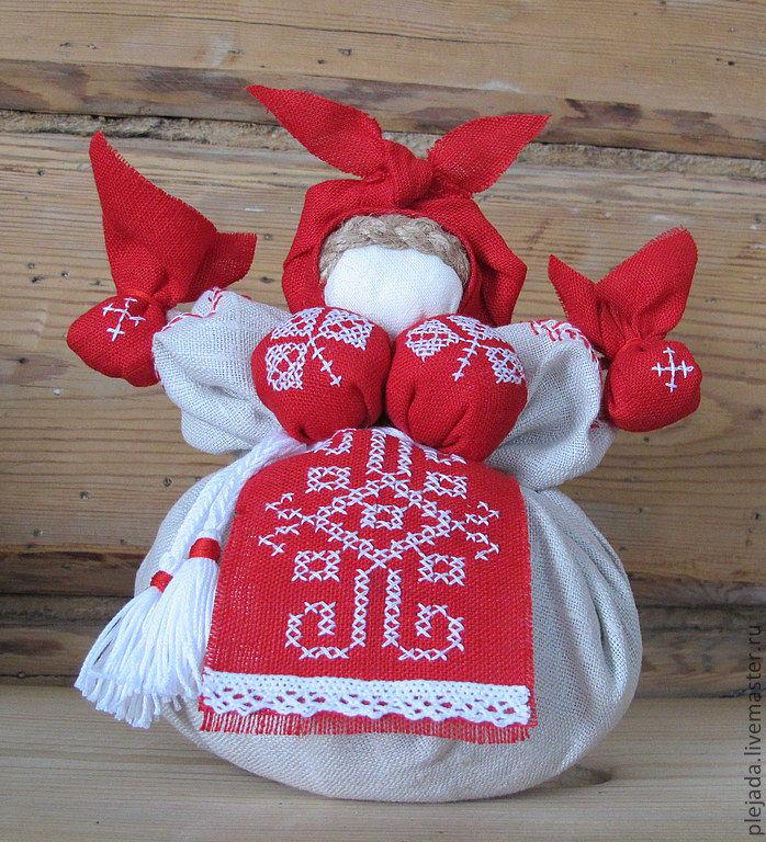 руками своими оберег травница кукла