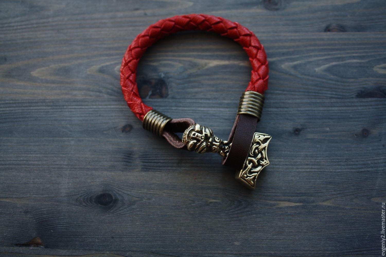 Bracelet with Thor's Hammer, Pendants, Volgograd,  Фото №1