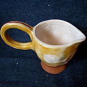 Посуда ручной работы. Ярмарка Мастеров - ручная работа Соусник керамический Золотой век. Handmade.