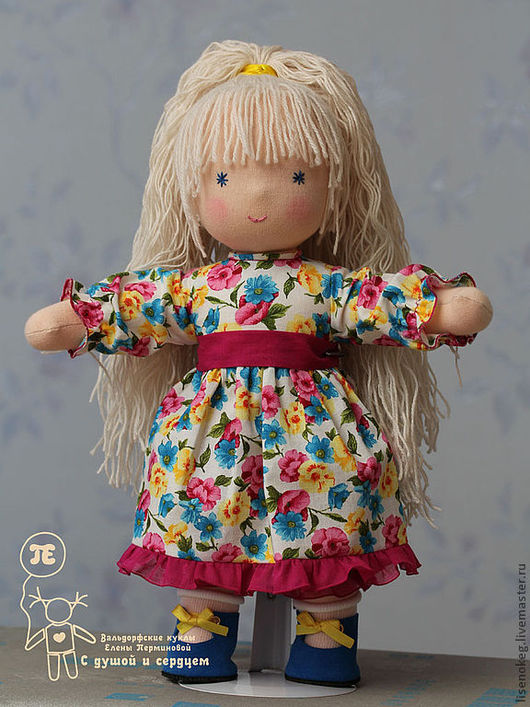 Вальдорфская игрушка ручной работы. Ярмарка Мастеров - ручная работа. Купить Лютик (вальдорфская кукла). Handmade. Вальдорфская кукла