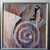"""Для дома и интерьера ручной работы. Ярмарка Мастеров - ручная работа Гобелен """"Заводные 20-е"""". Handmade."""