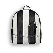 Сумки и аксессуары handmade. Livemaster - original item Backpack Python LUSTRADE. Handmade.