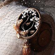 Украшения ручной работы. Ярмарка Мастеров - ручная работа Брошь- кулон .. Handmade.
