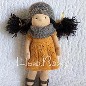 Куклы и игрушки ручной работы. Ярмарка Мастеров - ручная работа Текстильная кукла Катюша. Handmade.