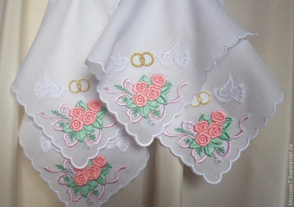 Платочки для венчания своими руками 2