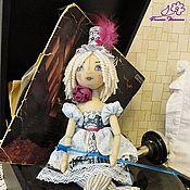 Куклы и игрушки ручной работы. Ярмарка Мастеров - ручная работа Текстильная кукла - Лилли, артистка цирка))). Handmade.