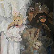 """Картины и панно ручной работы. Ярмарка Мастеров - ручная работа """"Арлекин"""". Handmade."""