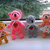 Куклы и игрушки ручной работы. Ярмарка Мастеров - ручная работа Мишутки. Handmade.