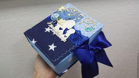 Подарки для новорожденных, ручной работы. Ярмарка Мастеров - ручная работа. Купить Мамины и папины сокровища. Handmade. Комбинированный, для новорожденного, Скрапбукинг