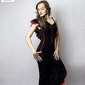 Одежда handmade. Livemaster - original item Knitted dress for graduation, wedding, vacation. Handmade.