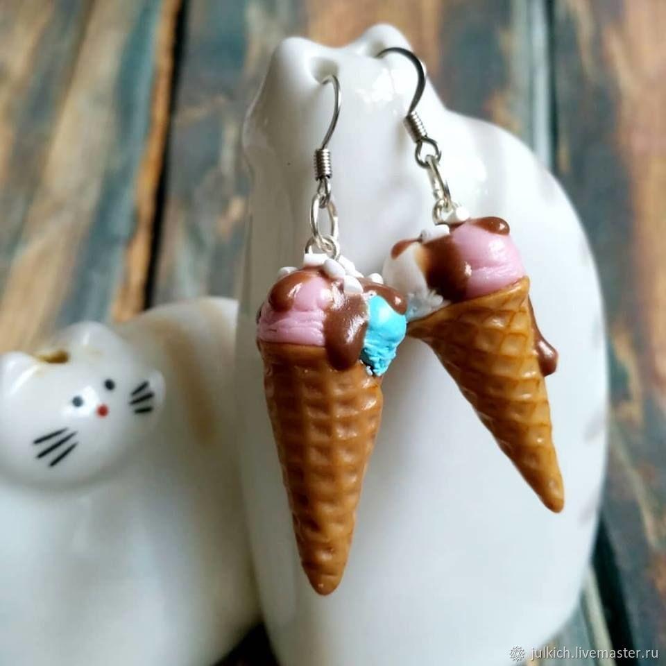 earrings 'Popsicles', Earrings, Krasnodar,  Фото №1