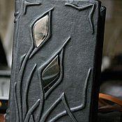 """Канцелярские товары ручной работы. Ярмарка Мастеров - ручная работа Книга для записей """"Северные травы"""". Handmade."""