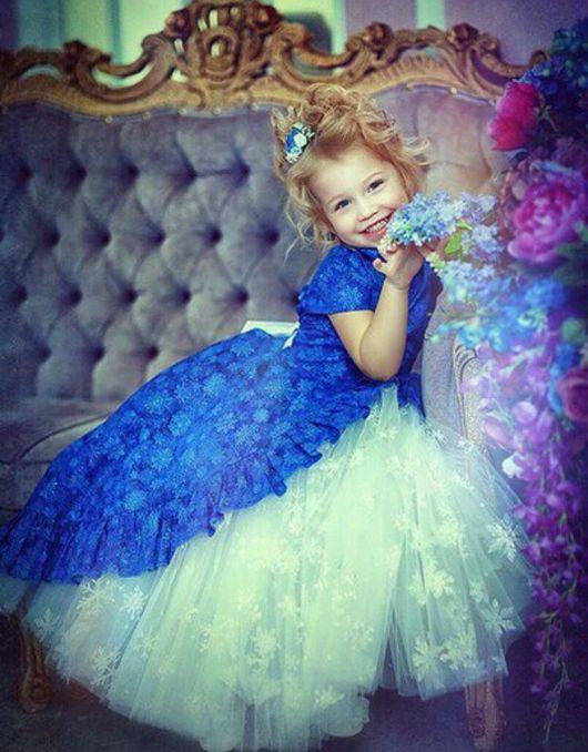 Одежда для девочек, ручной работы. Ярмарка Мастеров - ручная работа. Купить Платье Принцесса Yansonsdomik. Handmade. Платье, детская одежда