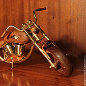 Для дома и интерьера handmade. Livemaster - original item Model motorcycle. Handmade.