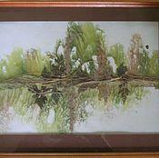 """Картины и панно ручной работы. Ярмарка Мастеров - ручная работа """"Отражение"""". Handmade."""