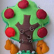 """Куклы и игрушки ручной работы. Ярмарка Мастеров - ручная работа Развивающая игрушка-подушка """"Волшебное дерево"""". Handmade."""