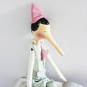Куклы и игрушки ручной работы. Ярмарка Мастеров - ручная работа Тильда Пиноккио. Handmade.