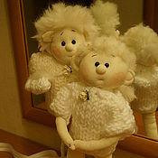 Одежда ручной работы. Ярмарка Мастеров - ручная работа Куклы Ангелочки-малыши. Handmade.