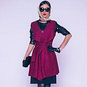 Одежда ручной работы. Ярмарка Мастеров - ручная работа Жилет женский из шерсти. Handmade.