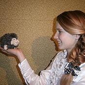 Куклы и игрушки handmade. Livemaster - original item Lamb. (sheep crochet). Handmade.
